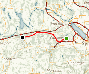 Erie Canalway Trail (Camillus to Jordan) Map