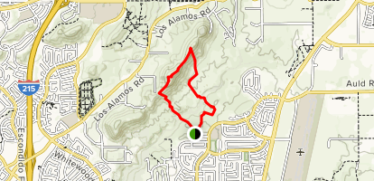 Hogbacks Loop (CLOSED) Map