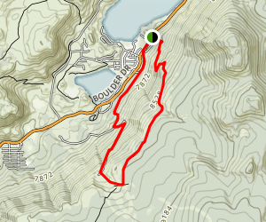 June Lake Loop Trail Map