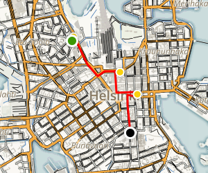 Helsinki: A Culture and Arts Walking Tour Map