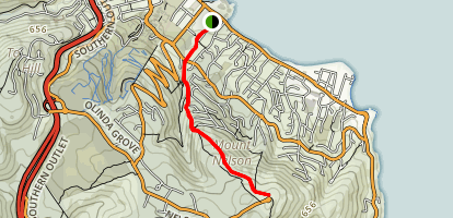 Mount Nelson Track Map
