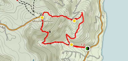 Porter Hill Mount Nelson Circuit Map