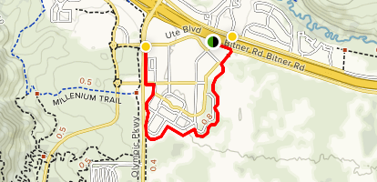 224 Connector Trail Map