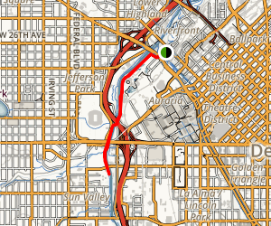 South Platte River Greenway Trail Map