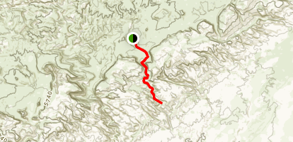 Crack Canyon  Map