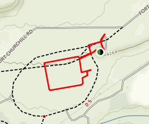 Fort Churchill State Historic Park Map