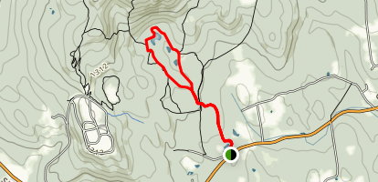 Summit East and Summit West Loop Trail Map