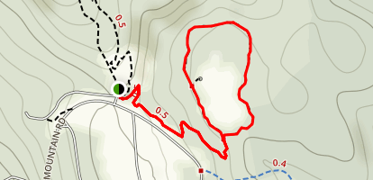 Dutton Brook Trail Map