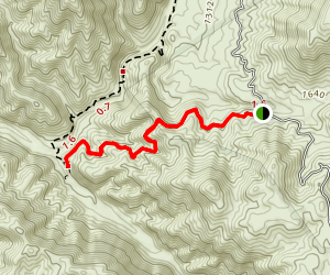 Fishermans Camp Trail Map