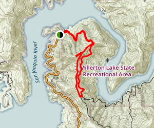 Pincushion Mountain Loop Trail Map