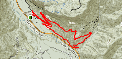 Camp Sheppard Loop Trail Map