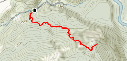 Slocan-Kooteny Lookout Map