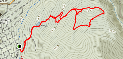 Mountain Station Trails Map