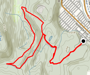Romantic Ridge Loop Trail Map