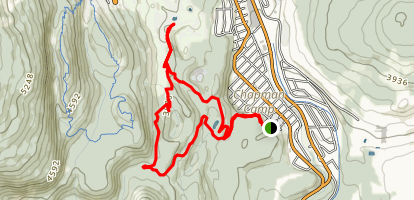 Marsden and Trickle Loop Trail Map