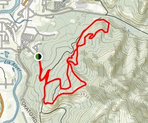 Roots - Uprooted (Alternate Trailhead) Map