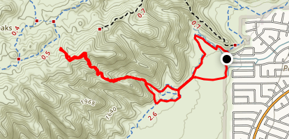 Young Man Trail Map