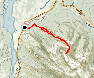Roche de Miette Scramble Map