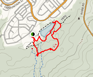Maxwell Lake and Beaver Boardwalk Loop Trail Map
