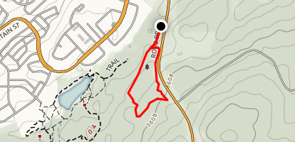 Hinton Bike Park Map
