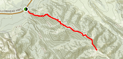 Folding Mountain Hike Map