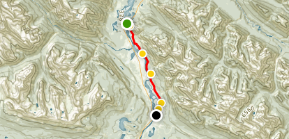 The Overlander Trail (Trail 10) Map