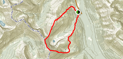 Mount Haig Route Map