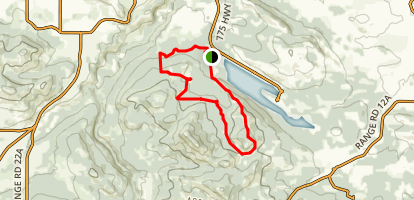 Beauvais Lake Park Trail Map