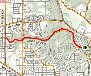 Parkway Jogging Trail Map