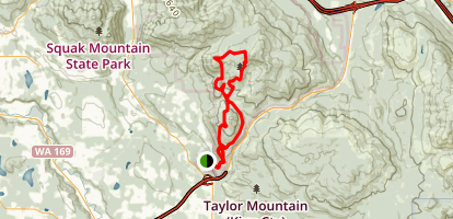Tiger Mountain Loop Map