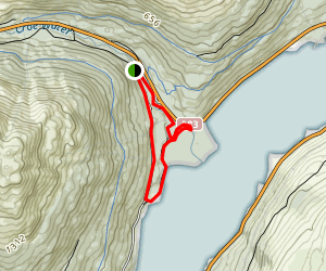 Ardgarten and Loch Long Loop Map