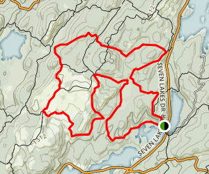 Harriman State Park Loop Map