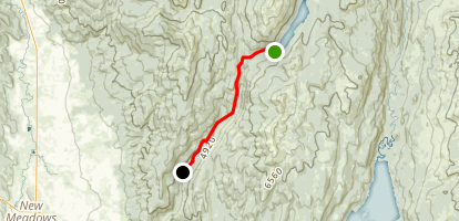 Goose Creek Downhill Map