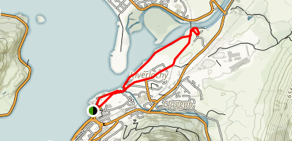 Inverlochy Castle Loop Map
