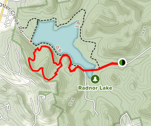 South Cove Trail Loop Map
