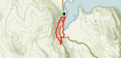 Portree Forest Loop Map
