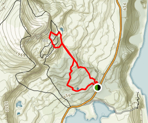 The Old Man of Storr Loop Map