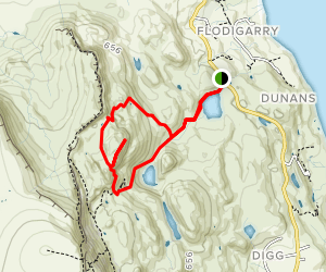 Fingal's Pinnacles Map