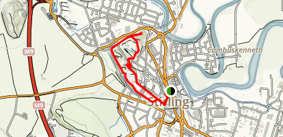 Stirling Castle Loop Map