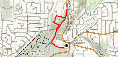 Moss Rock Preserve: Orange Trail Map