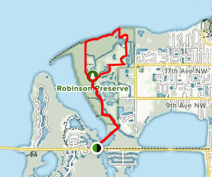 Spoonbill Trail and Osprey Loop Map