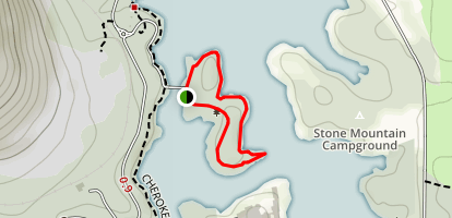 King's Trail at Indian Island Map
