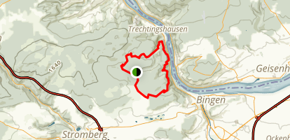 Baumgeister Trail Map