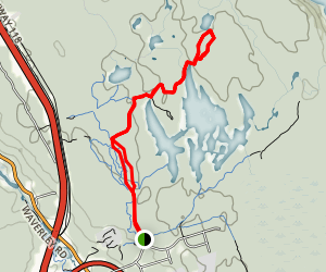 Double Track Trail to Skull Trail Map