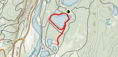 Lake Annette Loop Map