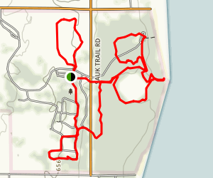 Quarry Lake and Harrington Beach Loop Map