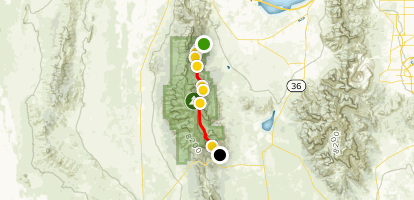 Stansbury Front Trail (Full Trail) Map
