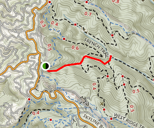 Tres Sendas Trail Map