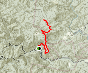 Little River Trail (to Sawtooth Trail) Map
