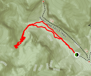 Big Falls Trail Map